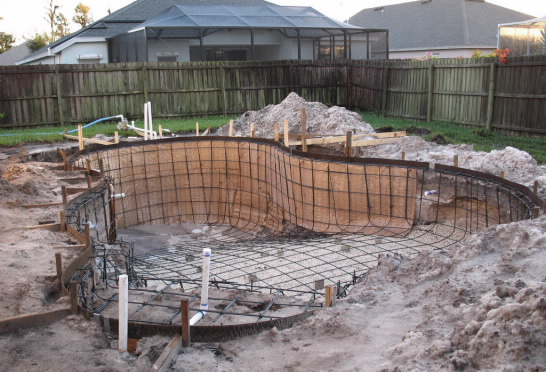 building a swimming pool - Swimming Pool Structural Design