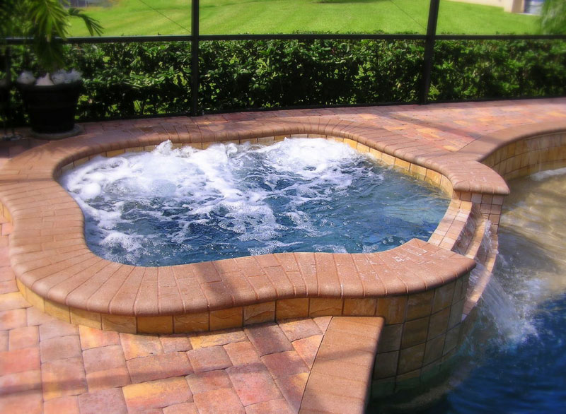 Cool water pools and spas inc photo gallery slideshow for Cheap pools