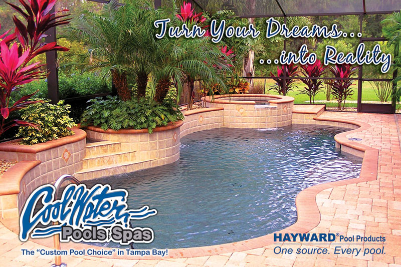 Swimming pool construction in the tampa bay fl area for In ground swimming pool contractors