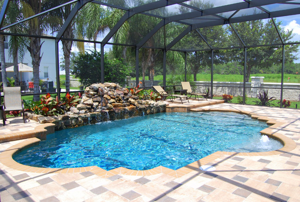 Luxury outdoor pools images galleries for Luxury swimming pools