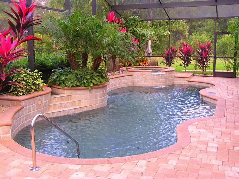 Swimming Pool Ladders In The Tampa Fl Area