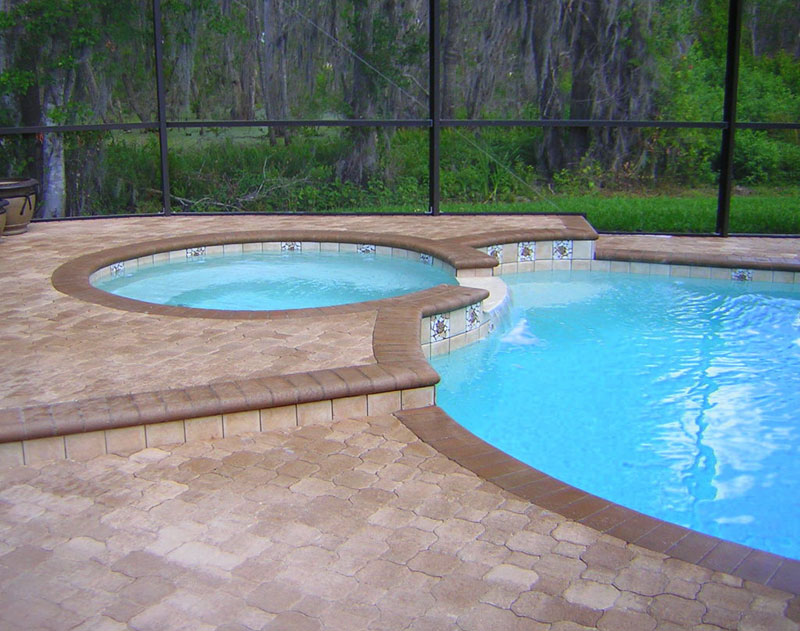 Swimming pool plans in the tampa fl area for Pool design tampa florida