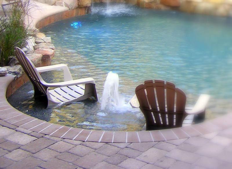 Swimming Pool Seat